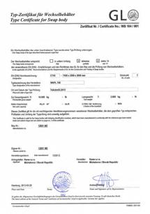 GL certifikát
